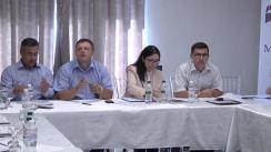 """Masa rotundă organizată de Asociația Promo-LEX cu tema """"Activitatea Comisiei Electorale Centrale și a Centrului de Instruire Continuă în Domeniul Electoral sub lupa monitorilor. Retrospectiva anului 2016"""""""
