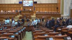 Ședința în plen a Camerei Deputaților României din 8 august 2017