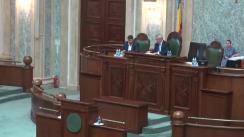 Ședința în plen a Senatului României din 8 august 2017