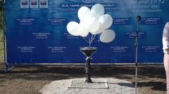 Evenimentul de dare în exploatare a primelor patru cișmele din cele douăsprezece care fac parte din proiectul furnizorului de apă din capitală