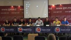 """Conferință de presă organizată de Asociația Obștească """"UNIREA - ODIP"""" cu tema """"Bilanțul Caravanei Unirii. Rezultate și statistici"""""""