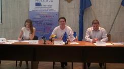 Conferință de presă privind Lansarea Erasmus+ Youth Info Centru în Moldova