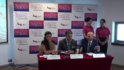 Conferință de presă organizată de Aeroportul Iași și compania Wizz Air