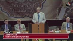 10 TV - Prima zi a lucrărilor Universității de vară Nicolae Iorga