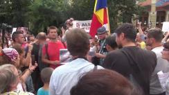 """Protest """"Pro sau Contra vaccinării obligatorie"""""""