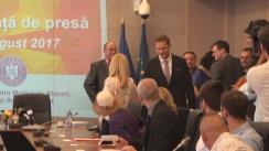 Conferință de presă susținută de Ministrul pentru Mediul de Afaceri, Comerț și Antreprenoriat, Ilan Laufer, privind înmânarea primelor Acorduri de finanțare în cadrul Programului Start-up Nation și statusul programelor de sprijinire a înființării și dezvoltării IMM-urilor