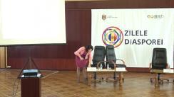 """Evenimentul """"Diplomația și Diaspora"""" organizat cu ocazia Zilelor Diasporei"""