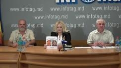 """Conferință de presă organizată de AO Uniunea Veteranilor de Război """"PATRIOT"""" din Republica Moldova cu tema """"Starea socială a veteranilor de război. Aniversarea a 26-a de independență"""""""