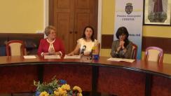 """Conferință de presă organizată de Primăria municipiului Chișinău privind organizarea concursului """"Dictare pentru fiecare"""""""