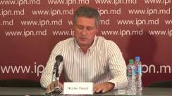 """Conferință de presă susținută de omul de afaceri Nicolae Pascal cu tema """"Despre trădare sau cum înțeleg unii politicieni demnitatea"""""""