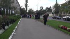 Flashmob organizat de Partidul Liberal în fața Ambasadei Federației Ruse din Republica Moldova