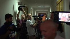 Ședința de judecată a dosarului lui Dorin Chirtoacă din 24 august 2017