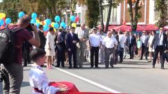 Inaugurarea sărbătorii Zilei Independenței Republicii Moldova la Orhei. Parada națională