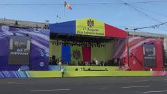 Ceremonia oficială de deschidere a evenimentelor dedicate Zilei Independenței Republicii Moldova