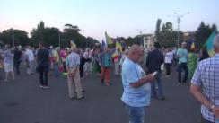 """Protestul """"Justiție independentă, nu stat subordonat"""""""