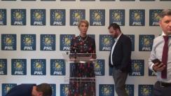Conferință de presă susținută de prim-vicepreședintele PNL București, Marius Vintilă, și vicepreședintele PNL București, Ciprian Ciucu