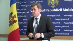 Declarațiile lui Iurie Ciocan după ședința Guvernului Republicii Moldova din 30 august 2017