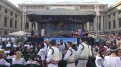 """Deschiderea oficială a Festivalului folcloric """"Prahova iubește Basarabia"""", ediția a III-a"""