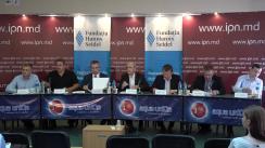 """Dezbateri publice cu tema """"Cererea de retragere a trupelor ruse de pe teritoriu Republicii Moldova: legalitate, avantaje, riscuri și pericole"""""""