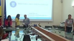 Conferință de presă cu ocazia prezentării soluțiilor identificate de Ministerul Educației Naționale în privința asigurării procesului didactic pentru elevii de clasa a V-a