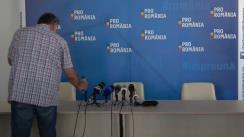 """Lansarea proiectului politic """"Altfel"""" de către Platforma ProRomânia"""