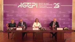 Conferință de presă organizată cu ocazia aniversării a 25 de ani de la fondarea AGEPI