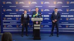 Briefing de presă organizat de Procuratura Generală privind evoluția investigațiilor în cazul decesului, la 26 august 2017, în Penitenciarul nr.16 Pruncul, a cetățeanului Andrei Braguța