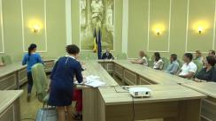 Ceremonia oficială de înmânarea a atestatelor pentru desfășurarea activității de mediere