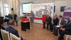 """Lansarea cărții """"Compendiu al jurisprundenței Curții Constituționale a Republicii Moldova (1995-2017)"""""""