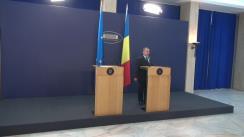Declarații de presă susținute de Premierul României, Mihai Tudose, și comisarul european pentru politică regională, Corina Crețu