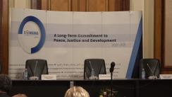 Conferința de lansare a campaniei de promovare a candidaturii României pentru un loc de membru nepermanent în Consiliul de Securitate al Organizației Națiunilor Unite pentru mandatul 2020-2021