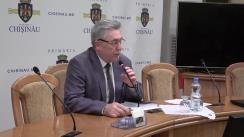 Ședința săptămânală a serviciilor primăriei Chișinău din 11 septembrie 2017