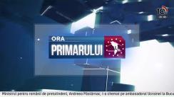 Ora Primarului cu Radu OSIPOV /// LIVE la 10TV