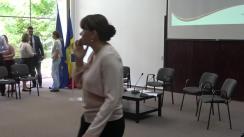 """Dezbaterea publică """"România în contextul retragerii Marii Britanii din Uniunea Europeană"""""""