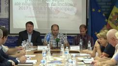 """Dezbaterea publică """"Problemele vechi ale noului sezon de încălzire 2017-2018 în municipiul Chișinău"""""""