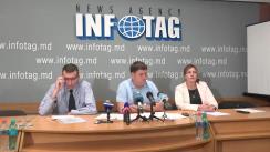 """Conferință de presă cu tema """"Avocații constată cele mai grave încălcări ale drepturilor omului în dosarul lui Renato Usatîi și activiștilor Partidului Nostru"""""""