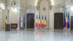 Ceremonia de depunere a jurământului de învestitură a noilor miniștri din Guvernul Tudose
