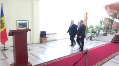 Conferință de presă susținută de Ministrul Afacerilor Externe și Integrării Europene, Andrei Galbur, și Ministrul Afacerilor Externe al Republicii Lituania, Linas Linkevičius