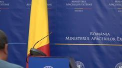 """Conferință de presă susținută de ministrul delegat pentru Afaceri Europene, Victor Negrescu, cu tema """"Discursul președintelui Comisiei Europene, Jean-Claude Juncker, privind starea Uniunii Europene"""""""