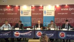 """Dezbateri publice cu tema """"Modelul Estic și modelul Vestic pentr Moldova: diferențe, avantaje, dezavantaje. Șansele """"Căii a treia"""""""