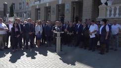 """Conferință de presă cu tema """"Teroarea regimului banditesc al lui Plahotniuc contra primarilor și consilierilor Partidului Nostru"""""""