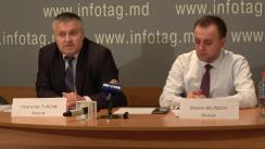 """Conferință de presă susținută de avocații Maxim Belinschii și Veaceslav Țurcan cu tema """"Fapte și mituri. Realitatea juridică în cazul Eugen Șevciuk"""""""