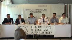 """Ședința Clubului Jurnaliștilor de Investigație cu tema """"Justiția din Republica Moldova: de la dosarul Boboc până la cazul Brăguță. Lecția neînvățată din aprilie 2009"""""""