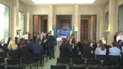 Ceremonia de încheiere a Programului de Internship, ediția 2017