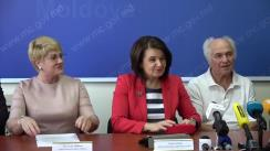 Conferință de presă organizată de Ministerul Educației, Culturii și Cercetării cu prilejul desfășurării celor 3 concerte ale maestrului Eugen Doga în teritoriu