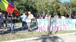 """Protestul """"Salvați școlile Românești din Ucraina"""""""
