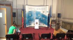 Declarație de presă susținută de Comisarul European responsabil pentru Uniunea Securității, Julian King, după întâlnirea cu membrii comisiilor de specialitate ale Parlamentului României