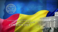 Ședința publică a Curții Constituționale a României din 19 septembrie 2017