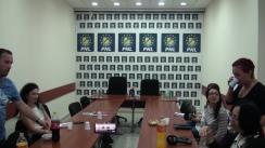 Conferință de presă organizată de PNL Iași