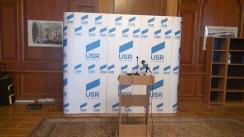 Conferință de presă susținută de deputații Uniunii Salvați România
